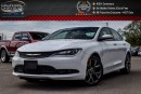 Used 2016 Chrysler 200 S|Pano Sunroof|Backup Cam|Bluetooth|Pwr Seat|R-Start|19