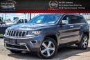 Used 2016 Jeep Grand Cherokee Limited|4x4|Navi|Sunroof|Backup Cam|Bluetooth|R-Start|Leather|20