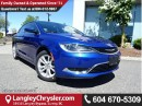 Used 2016 Chrysler 200 Limited DEMO CLEAROUT W/  REAR-VIEW CAMERA & HEATED FRONT SEATS for sale in Surrey, BC