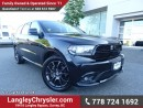 Used 2016 Dodge Durango R/T for sale in Surrey, BC