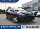 Used 2013 Hyundai Accent GL MANUAL TRANSMISSION, ONE OWNER & BC OWNED for sale in Abbotsford, BC