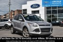 Used 2013 Ford Escape SE 4WD - BLUETOOTH - CLASS II TRAILER TOW - NAV for sale in Ottawa, ON