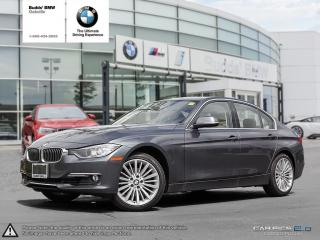 Used 2013 BMW 328i xDrive Sedan Luxury Line for sale in Oakville, ON