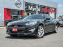 Used 2013 Hyundai Genesis 2.0T, coupe , Manual trans!! low mileage for sale in Orleans, ON