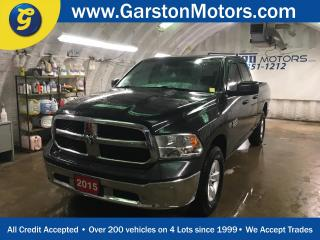 Used 2015 Dodge Ram 1500 QUAD CAB*KEYLESS ENTRY*LINE X BOX LINER*HITCH RECEIVER w/PIN CONNECTOR*ALLOYS*POWER WINDOWS/LOCKS/HEATED MIRRORS*4x4*AM/FM/XM/USB/AUX*TRACTION CONTROL*TOW/HAUL MODE*CRUISE CONTROL* for sale in Cambridge, ON