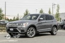 Used 2017 BMW X3 Premium and Smartphone Connectivity Package! for sale in Langley, BC
