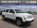 Used 2016 Jeep Patriot HIGH ALTITUDE 4X4 for sale in Guelph, ON