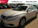 Used 2016 Nissan Altima POWER SEAT, BACKUP CAMERA, BLUETOOTH for sale in Edmonton, AB