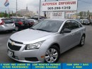 Used 2013 Chevrolet Cruze LS Auto Economical 1.8L/Keyless Entry &GPS* for sale in Mississauga, ON
