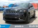 Used 2015 Jeep Grand Cherokee SRT LEASE RETURN 1 OWNER ACCIDENT FREE LEATHER SUNROOF NAVI for sale in Edmonton, AB