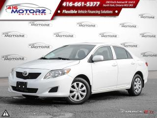 Used 2010 Toyota Corolla CE  - $66.35 B/W for sale in North York, ON