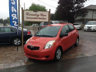 Used 2007 Toyota Yaris CE - 5 Speed manual shift - Financing Available for sale in Bradford, ON