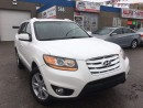 Used 2010 Hyundai Santa Fe Limited  w/Navi_Backup Camera_Leather_Sunroof for sale in Oakville, ON