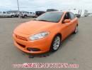 Used 2013 Dodge DART SXT 4D SEDAN 1.4L for sale in Calgary, AB