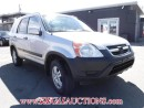 Used 2002 Honda CR-V  4D UTILITY 2WD for sale in Calgary, AB