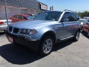 Used 2005 BMW X3 2.5i  Coquitlam Location - 604-298-6161 for sale in Langley, BC