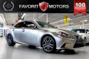 Used 2014 Lexus IS 350 F SPORT AWD | RED LTHR | NAV | BACK-UP CAM for sale in North York, ON