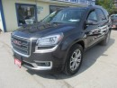 Used 2015 GMC Acadia LOADED SLT-1 7 PASSENGER 3.6L - V6.. AWD.. LEATHER.. CAPTAINS.. 3RD ROW.. NAVIGATION.. BACK-UP CAMERA.. for sale in Bradford, ON