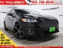 Used 2015 Ford Fusion SE| NAVI| LEATHER| SUNROOF| BACK UP CAMERA| for sale in Burlington, ON