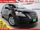 Used 2013 Nissan Sentra 1.8 S| WE WANT YOUR TRADE| OPEN SUNDAYS| for sale in Burlington, ON