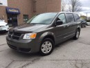 Used 2010 Dodge Grand Caravan SE - REAR STOW N'GO - for sale in Aurora, ON