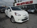 Used 2014 Mitsubishi Mirage 4dr HB AUTO CVTALLOY A/C SAFETY 10 YEARSFACTORY PO for sale in Oakville, ON