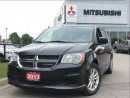 Used 2013 Dodge Grand Caravan | BACK UP CAMERA | DVD | ALLOYS | for sale in Mississauga, ON