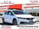 Used 2013 Honda Civic EX | HEATED SEATS | REAR-VIEW CAMERA - FORMULA HON for sale in Scarborough, ON