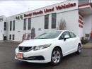Used 2013 Honda Civic LX -  New Brakes and Tires for sale in Mississauga, ON