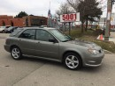 Used 2006 Subaru Impreza $4488,WAGON AWD,SAFETY E/T+3YEARS WARRANTY INCL for sale in North York, ON