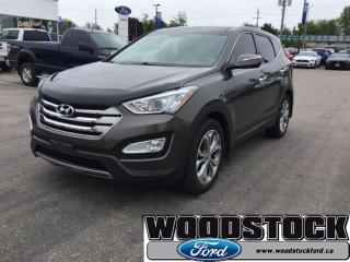 Used 2013 Hyundai Santa Fe Sport 2.0T AWD Limited AWD, Moonroof, Leather Seats for sale in Woodstock, ON