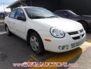 Used 2004 Dodge SX 2.0 BASE 4D SEDAN for sale in Calgary, AB