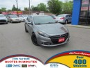 Used 2013 Dodge Dart SXT | RALLYE | MANUAL | SUPERCHARGED for sale in London, ON
