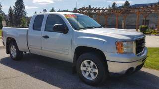 Used 2010 GMC Sierra 1500 SLE Ext. Cab 4WD for sale in West Kelowna, BC