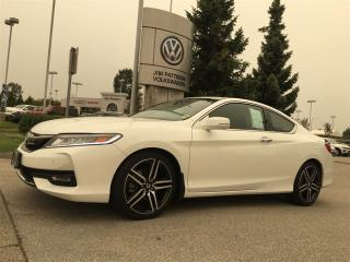 Used 2016 Honda Accord Coupe L4 Touring CVT for sale in Surrey, BC