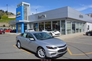New 2017 Chevrolet Malibu 1LT for sale in Kamloops, BC