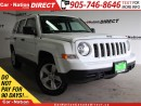Used 2016 Jeep Patriot Sport| LOCAL TRADE| WE WANT YOUR TRADE| for sale in Burlington, ON