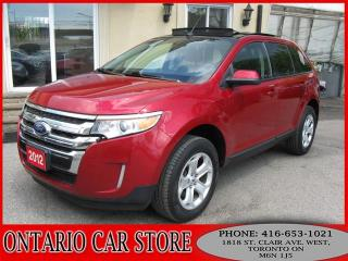 Used 2012 Ford Edge SEL AWD 3.5L LEATHER PANO.ROOF for sale in Toronto, ON