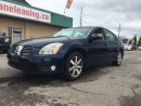 Used 2004 Nissan Maxima LEATHER & SUNROOF! for sale in Bolton, ON