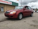 Used 2008 Kia Spectra LX! POWER WINDOWS, LOCKS, AND MIRRORS! for sale in Bolton, ON