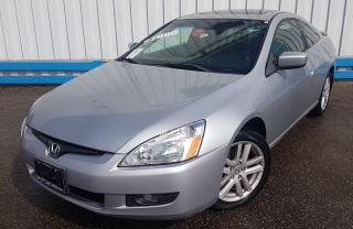 Used 2004 Honda Accord EX-L Coupe V6 *6-SPEED* for sale in Kitchener, ON