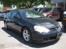Used 2003 Acura RSX Auto, 2DR, htd leather, sunroof, blk on blk for sale in Ottawa, ON