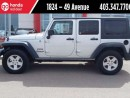 Used 2012 Jeep Wrangler UNLIMITED SPORT for sale in Red Deer, AB