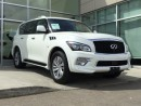 Used 2016 Infiniti QX80 PREMIUM/NAV/HEATED AND COOLED SEATS/DVD/AROUND VIEW MONITOR for sale in Edmonton, AB