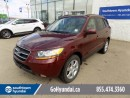 Used 2009 Hyundai Santa Fe LEATHER/SUNROOF/HEATED SEATS for sale in Edmonton, AB