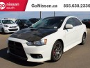 Used 2012 Mitsubishi Lancer Evolution MR 4dr All-wheel Drive Sedan for sale in Edmonton, AB
