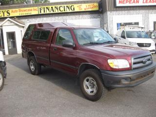 Used 2005 Toyota Tundra V8, 4x4, Reg cab, A/C for sale in Ottawa, ON