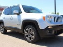 Used 2015 Jeep Renegade LIMITED, NAVI, HEATED WHEEL + SEATS, BACKUP CAM, BLUETOOTH, LEATHER, USB/AUX for sale in Edmonton, AB