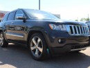 Used 2012 Jeep Grand Cherokee OVERLAND V8, NAVI, SUNROOF, TERRAIN SELECT, LEATHER, HEATED FRONT + REAR SEATS, for sale in Edmonton, AB