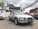 Used 2004 Volvo S60 SUPER CLEAN ACCIDENT FREE ((CERTIFIED)) for sale in Hamilton, ON